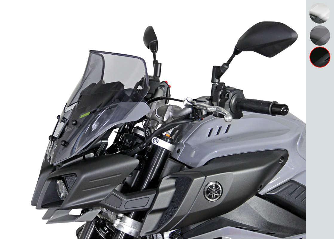 Screen MRA NS - Spoiler Naked Bikes - black YAMAHA MT-10